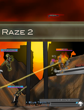 Raze 2 – The ultimate war begins